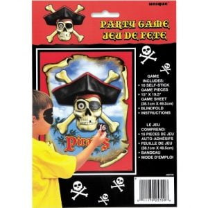 Pirate Bounty Party Game Pin The Patch On The Pirate 25709