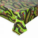 Construction Plastic Table Cover Tablecloth 52073