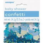 Confetti Scatters Baby Shower Boys Blue Table Decorations 61842