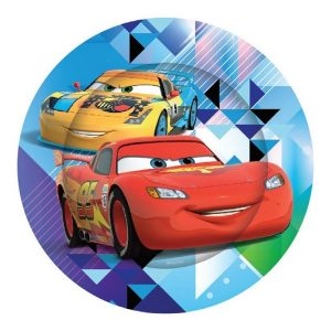 8pk Disney Cars Large Paper Plates E2098