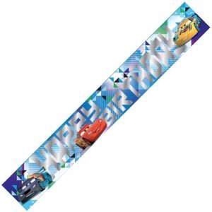 Disney Cars Birthday Party Foil Banner 1.8m E2102