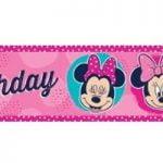 Disney Minnie Mouse Foil Banner 1.8m E2363