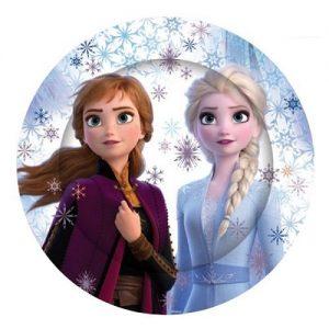 Disney Frozen 2 Paper Plates 23cm 8pk E5829