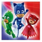 16pk PJ Masks Lunch Napkins Serviettes 511741