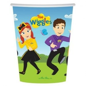 8pk The Wiggles Paper Cups 8822309