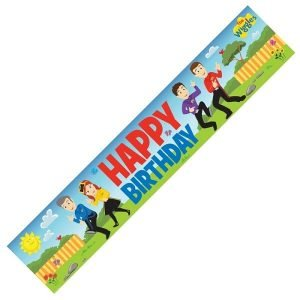 The Wiggles Happy Birthday Party Banner 8822361