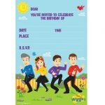 8pk The Wiggles Party Invitations 8822378
