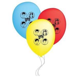 6pk The Wiggles Latex Balloons 30cm 8822422