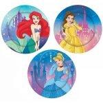Paper Plates 8pk Disney Princess E5845