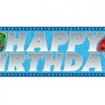 Thomas And Friends Party Banner 1.8m E3936