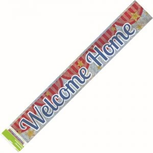 Welcome Home Foil Banner 2.7m 10783