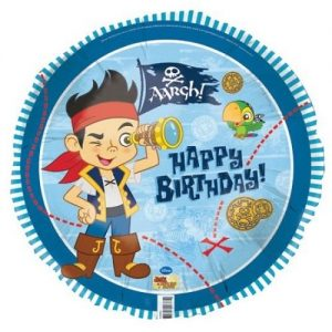 Jake And The Never Land Pirates Birthday Foil Balloon 45cm E2124