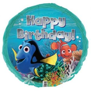 Disney Finding Nemo Dory Happy Birthday Foil Balloon E3230