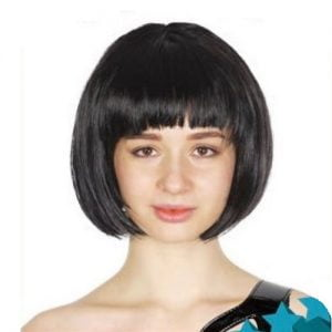 Black Womens Short Synthetic BOB Wig 22400