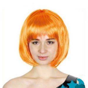 Orange Womens Short Synthetic BOB Wig 22412
