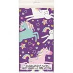 Unicorn Plastic Table Cover Tablecloth 72493