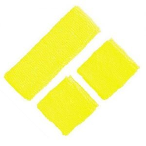 Yellow 80'S Cotton Wristbands Headband Sweatbands Set 14900-10