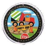 Construction Truck Foil Balloon 45cm Party Decorations 52157