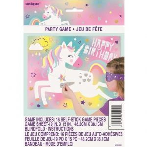 Unicorn Paper Party Blindfold Game 72499