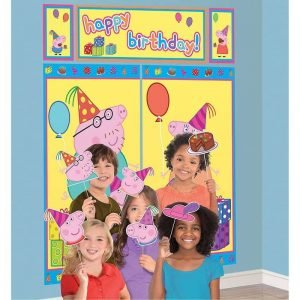 Peppa Pig Scene Setter & Props Happy Birthday 670744