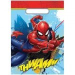 Party Bags 8pk Spider-Man Loot Lolly Treat Bags E7333