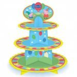 Peppa Pig Cupcake Tier Stand Party Table Decorations 010775