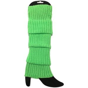Green Leg Warmers Chunky Knit 1980'S Party Accessories 15180-10