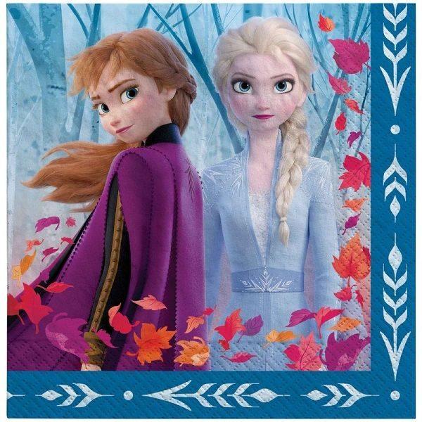 Disney Frozen 2 Large Napkins Serviettes 20pk 512087