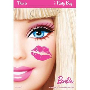 Party Bags 8pk Barbie All Doll'd Up Loot Lolly Bags 379379