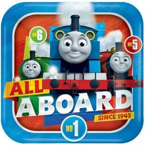 Large Plates 23CM 8pk Thomas And Friends 551752