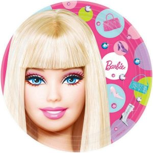 Paper Plates 8pk Barbie All Doll'd Up 559379
