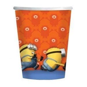 Paper Cups 8pk Despicable Me Minions 997972