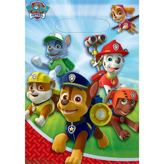 Party Bags 8pk PAW Patrol Loot Bags 371462