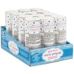 Blue Confetti Poppers 12pk Gender Reveal 396795