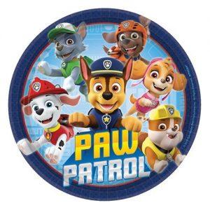 Small Plates 17CM 8pk PAW Patrol 542441