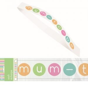 Pastel Mum To Be Sash Baby Shower Accessories M42369