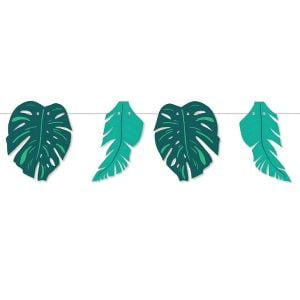 Bunting Leaf 1.5M 6pk Animal Jungle Safari E6647