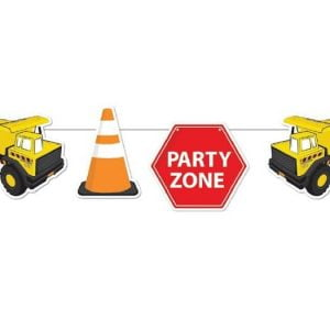 Bunting Flags (6 Flags) Construction Party Decorations E6653