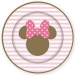 Large Plates 23CM 8pk Disney Minnie Mouse E5860