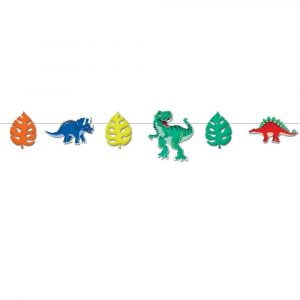 Bunting Flags 1.5M Dino Dinosaurs E6664