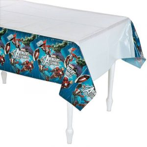 Table Cover Avengers Superhero Tablecloth 571354