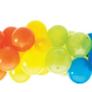 Rainbow Balloon Garland 40PCS Rainbow Party E6753