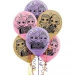 Latex Balloons 30CM 6pkL.O.L. Surprise! 112070