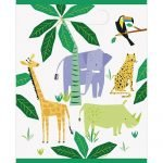 Party Bags 8pk Animal Jungle Safari Loot Lolly Bags 73933