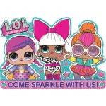 Party Invitations 8pkL.O.L. Surprise! 492070