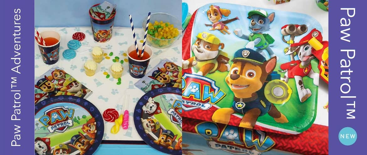 Paw Patrol Party Supplies And Decorations